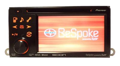 SCION tC Pioneer Bluetooth BeSpoke HD Radio Stereo CD Player