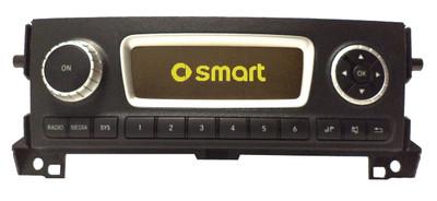 2010 - 2015 SMART OEM AM FM Radio USB 6  CD Disc Changer Stereo Receiver