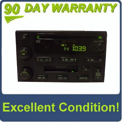 03 04 05 06 KIA Sorento OEM Factory Stereo AM FM Radio CD Player Tape Cassette