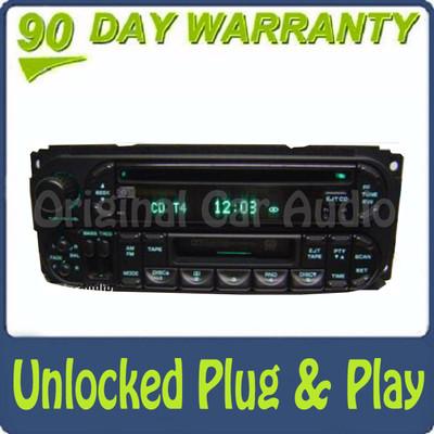 02 03 04 05 Chrysler Jeep Dodge Radio Cassette and CD Player RAZ RBP RBU