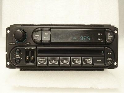 1998 - 2002 Chrysler Dodge Jeep OEM AM FM Radio CD Player Receiver RBK