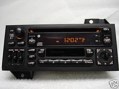 93 - 00 Chrysler Jeep Dodge Sebring Cherokee Avenger Radio and CD Player