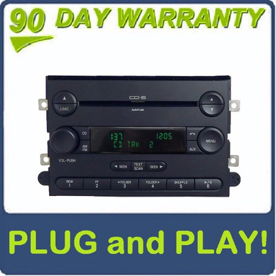 2006 - 2010 FORD F250 350 Truck LINCOLN Mark LT MERCURY Radio MP3 CD Player AUX