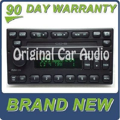NEW 2003 - 2006 FORD Escape MERCURY Mariner AM FM Radio Stereo 6 Disc Changer CD Player OEM