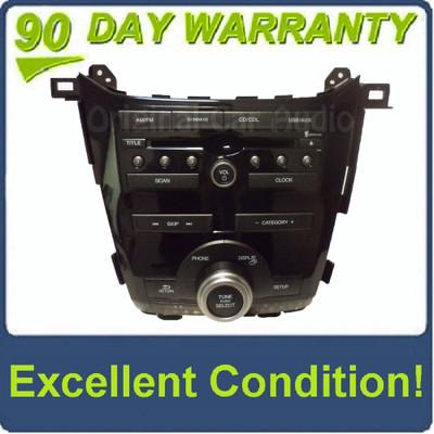 11 12 13 Honda Odyssey xm satellite radio CD Player usb aux 1pu0