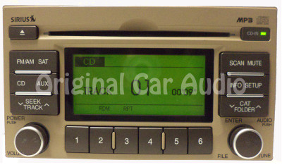 2009-2011 Kia Rio OEM Radio CD Player MP3 Satellite