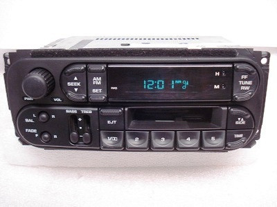 98-03 Chrysler Jeep Dodge Radio Cassette Player