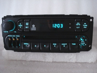 1998 -2002 Chrysler Jeep Dodge Radio and 6 CD