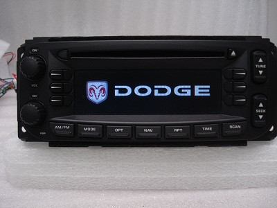 2004 - 2006 Jeep Chrysler Dodge Navigation Radio and CD Player