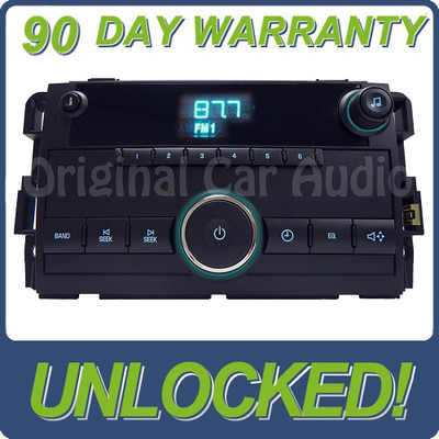 GMC Chevrolet Chevy radio AM FM receiver stereo clock display