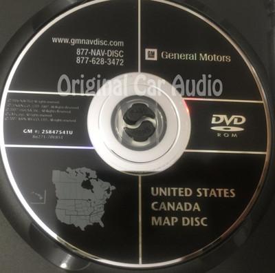 GM Satellite Navigation System CD 25847541 or 25847541U