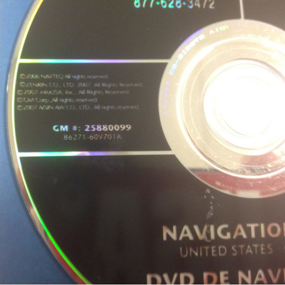 GM Satellite Navigation System CD 2580099