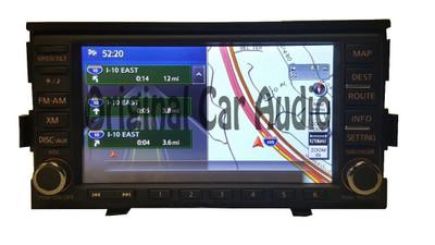 Nissan Altima Radio Player AM FM CD Player XM Navigation GPS Bluetooth Stero OEM