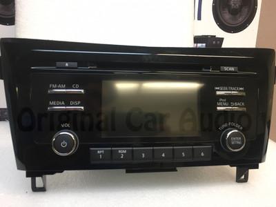 """2014-2016 Nissan Rogue AM FM Bluetooth USB 5"""" Display Rear Camera Radio 28185-4BA0C"""