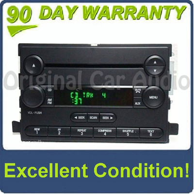 2004 2005 2006 Ford Mercury F-150 Freestyle Mustang Montego OEM AM FM CD Player Receiver