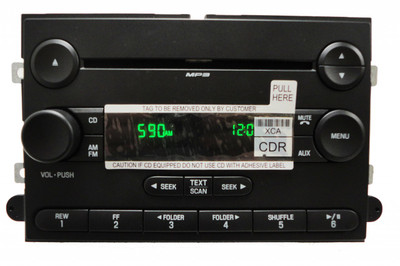 07-10 FORD Edge Explorer Expedition F150 Truck Radio MP3 CD Player 7T4T-18C869-BD 7T4T-18C869-BC