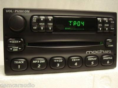 1998 - 2005 Ford Explorer Sport Trac Radio CD Mach MP3