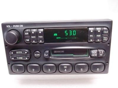 1998 - 2003 Ford Ranger F150 E150 Radio Tape Player
