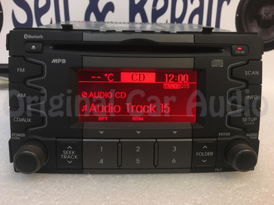 10 11 Kia SOUL Radio MP3  Bluetooth CD Player Amp