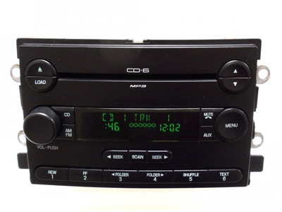 04 05 06 OEM FORD F150 Truck 500 Freestyle MERCURY Montego 6 MP3 CD Player Radio