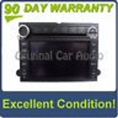 08 09 FORD MERCURY NAVIGATION GPS Radio 6 Disc Changer MP3 CD Player OEM Stereo