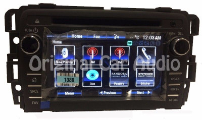 New Unlocked 2013 2014 Chevrolet Traverse Buick Enclave OEM Touch Screen Satellite Radio CD Player Receiver