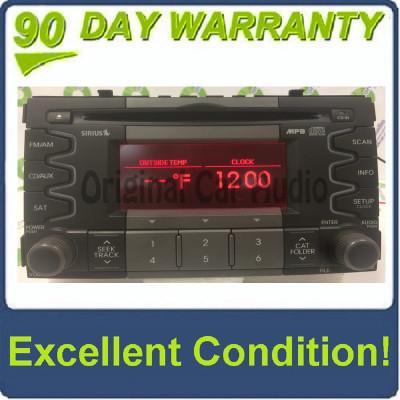 2010 2011 Kia Soul OEM AM FM Radio CD Player w/ Amplifier 96140 2K300