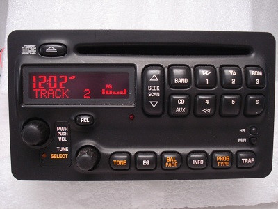 GMC Pontiac Vibe Radio CD Player Receiver AM FM Stereo