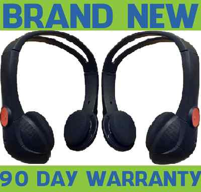 2005-12 CADILLAC GM Chevy REAR ENTERTAINMENT HEADSETS 15845791 HEADPHONES TV DVD