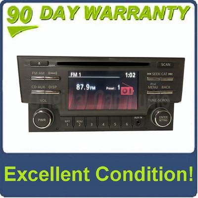 2013 - 2014 Nissan Sentra OEM Single CD AM FM SAT Radio Receiver Aux