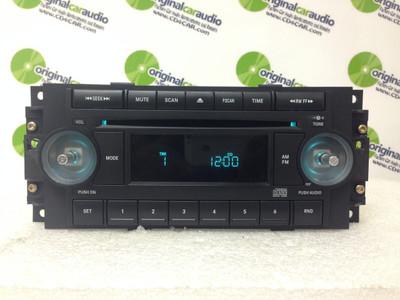 2004 - 2008 Chrysler Jeep Dodge OEM Radio CD Player REF w/ NO KNOBS