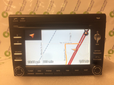 2011 2012 Porsche Cayman OEM Navigation AM FM Sat Radio CD Player Receiver