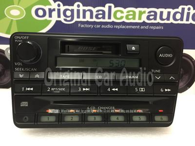 Bose Car Stereo >> 2001 Infiniti Qx4 Oem Bose Stereo Am Fm Radio 6 Cd Changer Tape