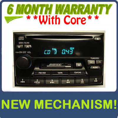 New Mechanism 1995 - 2002 Nissan Maxima Pathfinder Infiniti I30 QX4 G20 J30 Radio Tape CD Player