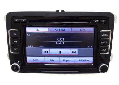 REMAN 2010 2011 2012  VW Volkswagen Jetta Passat Golf GTI Rabbit EOS OEM Radio Stereo 6 Disc Changer CD Player Touch Screen SD Mp3 Sirius Satellite RCD-510