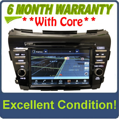 2015 - 2016 Nissan Murano OEM NON-BOSE Touch Screen Navigation CD Radio Receiver