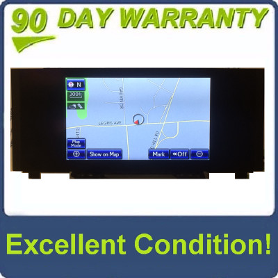 2014 - 2016 Lexus RC350 IS350 IS250 IS200T Navigation Radio Display Screen
