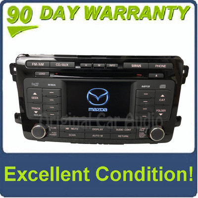 2010 - 2012 Mazda CX9 CX-9 OEM 6 CD AM FM SAT Multimedia Radio Receiver