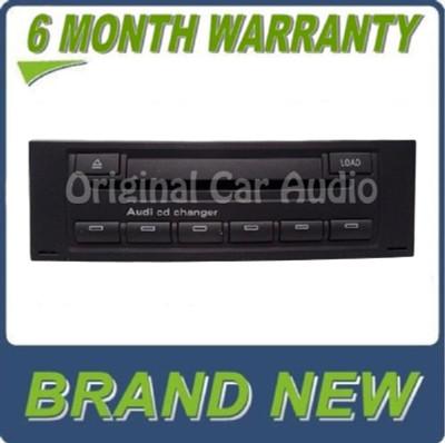 NEW Audi A4 S4 Avant Quattro Cabrio 6 CD Changer Radio 8E0035111 8E0 035 111 2002 2003 2004 2005 2006 2007 2008