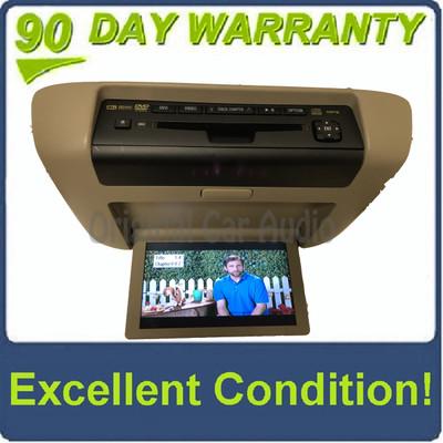 2008 - 2013 Toyota Highlander OEM Overhead Roof DVD Player Display Screen Entertainment Monitor