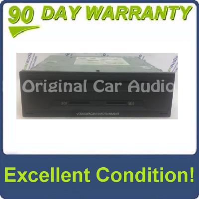 Blemished 2015 2016 VW Volkswagen Golf GTI MK7 Navigation Multimedia Panasonic Infotainment 2 Slot SD Card CD Player MIB1