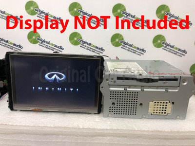 2012 - 2013 Infiniti OEM Bose Navigation AM FM Single CD Radio