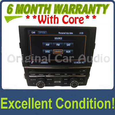 2013 - 2015 Porsche Panamera Navigation HDD JUKEBOX Bluetooth CD Player w/ HD Radio 970