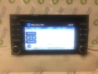 2014 - 2015 Nissan Juke OEM Navigation SirusXM Radio CD Player Receiver