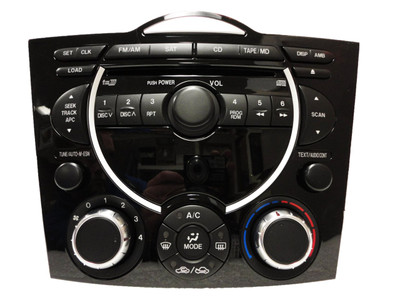 2004 - 2008 Mazda RX8 BOSE Radio Stereo Single CD Player w/ Climate Controls