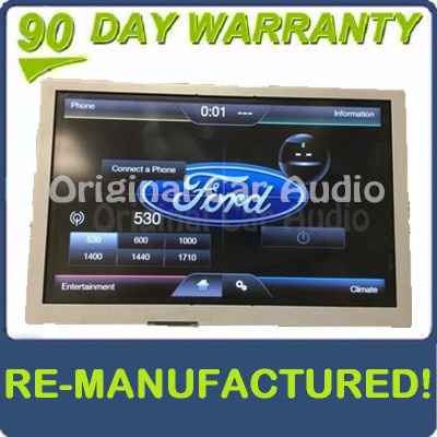 Remanufactured 2015 - 2018 Ford Edge OEM 8 Inch Factory Touch Screen Display Screen