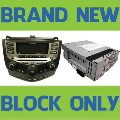 NEW Honda Accord 6 Disc Changer CD Player BLOCK COMPONENT 2004 2005 2006 2007 7BK1, 7BK2, 7BY1, 7BY2, 7FY1, 7FY2, 7FK0