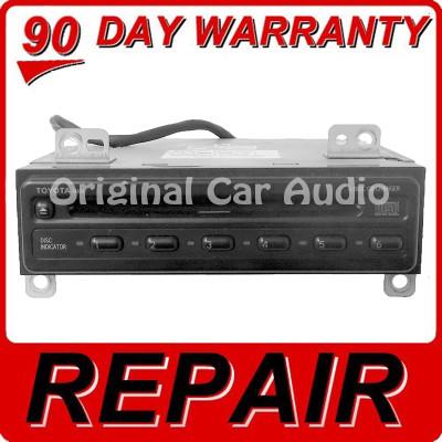 Toyota Repair Service Radio Audio 6 Disc Changer CD Player 74834