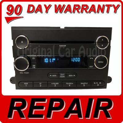 Repair 2009 - 2016 Ford F250 F350 Super Duty OEM Premium 12 Volt Single CD AM FM Radio