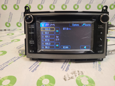 Re-Manufactured 2012 2013 57042 TOYOTA Venza Touchscreen Bluetooth Radio